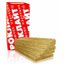 Роклайт (100) - плиты минераловатные (4 плиты)  0,288 м.куб. (1200х600х100)